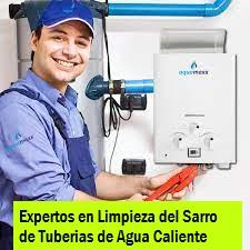 Limpieza de tuberia de agua caliente y terma en Pueblo Libre