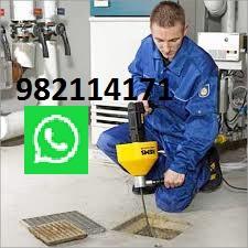 limpieza-mantenimiento-y-desatoro-de-desague-con-maquina-San-Isidro
