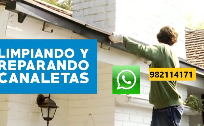 Instalación, Limpieza, Mantenimiento, Reparación de Canaleta para Lluvia en Surco, La Molina, Miraflores, San Borja