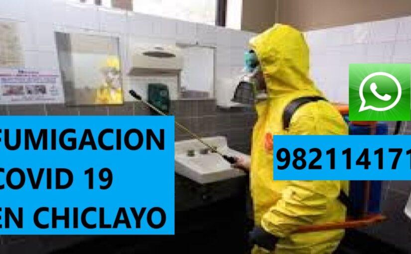 Limpieza, Fumigación, Desinfección en Casas, Condominios, Calles, Oficinas, Empresas, Edificios, Consultorios, Tiendas, Talleres, Autos, Buses por Covid 19, Coronavirus en Chiclayo